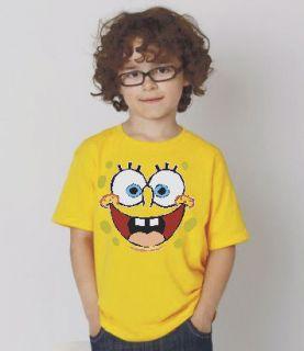spongebob / bob esponja t shirt / camiseta boys ninos