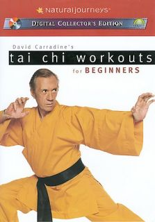 David Carradines Tai Chi Workout for Beginners DVD, 2003