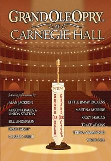 Grand Ole Opry at Carnegie Hall DVD