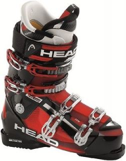 2010 Head Vector 110 HF Black/Red Ski Boots Size 29.0