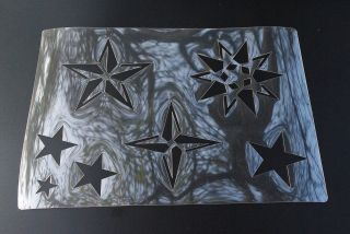 Stars Set Stencil Airbrush Painting Art Card making Paper Craft A4