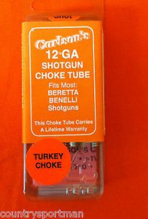 Carlsons 12 GA Turkey Choke Tube;Beretta Benelli Shotguns 16618