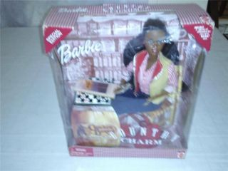 AFRICAN AMERICAN COUNTRY CHARM CRACKER BARREL BARBIE