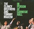 Person Carnegie Hall Clancy Brothers Tommy Makem CS 8750 1963