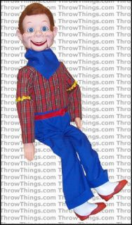 Howdy Doody Deluxe Upgrade Ventriloquist Dummy Doll Puppet With Moving