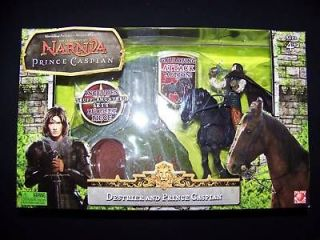 Narnia Prince Caspian & Destrier figure 2nd Series set