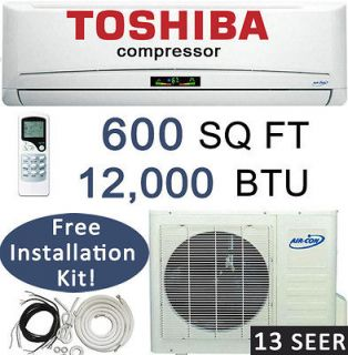 Split Air Conditioner & Heat Pump Air Con 12,000 btu AC Unit Ductless