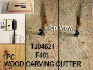 1PC Wood CARVING CUTTER for Rotary & Dremel Tool F401