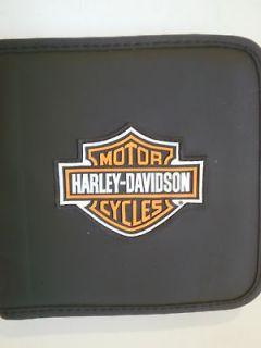 HARLEY DAVIDSON CD DVD Case Holds 24 Biker Motorcycle S