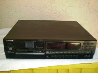 kenwood compact disc player cd