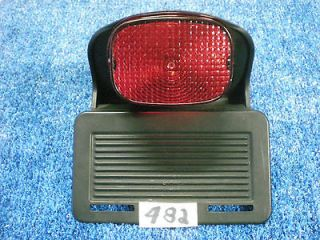 Harley Davidson 01 Soft Tail Tag Holder & Tail Light 482