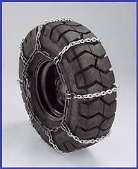 TIRE CHAINS 8.3 x 24, 12 x 16.5 BOBCAT SKID LOADER