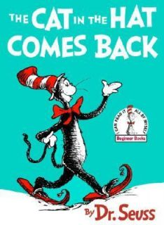 The Cat in the Hat Comes Back by Dr. Seuss 1958, Hardcover, Large Type