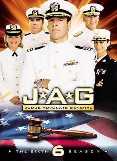 JAG   The Complete Sixth Season DVD, 2008, Multi Disc Set