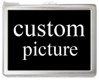 Custom Picture on Cigarette Holder Case with Lighter