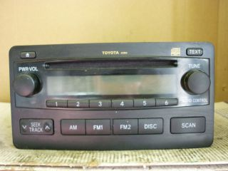 03 06 Toyota Tundra Radio Cd Player A51804 86120 0C100