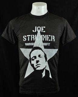 Dark Joe Strummer The Clash Punk Rock Tee T Shirt Sz XL