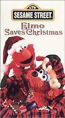 Sesame Street   Elmo Saves Christmas VHS, 1996