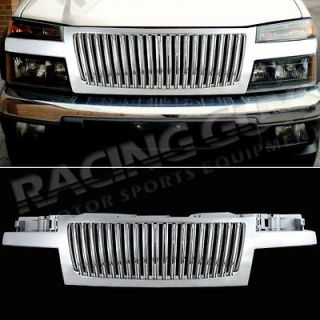 CHEVY COLORADO VERTICAL CHROME GRILL GRILLE (Fits Chevrolet Colorado