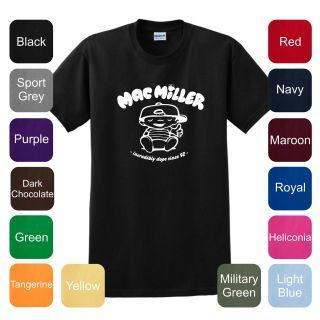 Mac Miller T Shirt Dope Knock Wiz Swag Weezy Drake Hip Hop Gang YMCMB