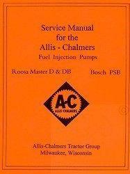 ALLIS CHALMERS Roosa Master D DB Bosch Service Manual