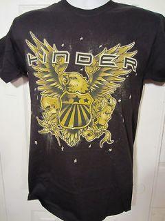 HOT TOPIC Hinder Rock Band EAGLE T shirt Size Small NWOT