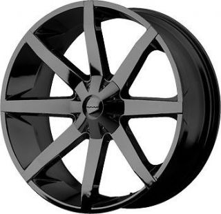 slide gloss black wheels rim 5x4.75 5x120.65 chevy s10 blazer sonoma
