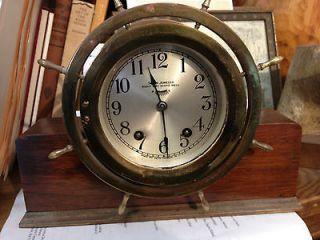 Seth Thomas Solid Oak Country Cottage Bim Bam Chime Mantel Clock