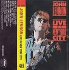 Live in New York City by John Lennon (Cassette, Mar 1986, Capitol/EMI