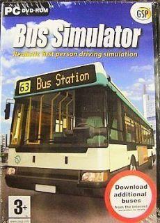 BUS SIMULAOR ( PC GAME ) NEW XP*****