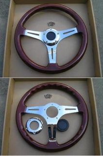 ForeverSharp 14 wood steering wheel chevy ford boat
