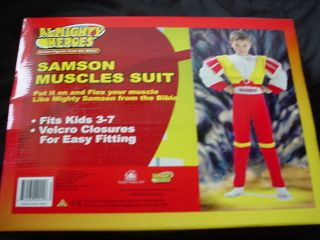 NEW Heros Muscles suit costume 1 piece size 3 7
