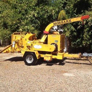 2000 Morbark Tornado Cummins Diesel Low Hours Wood Chipper, Shredder