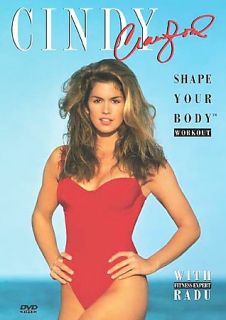 Cindy Crawford   Shape Your Body Workout DVD, 2004