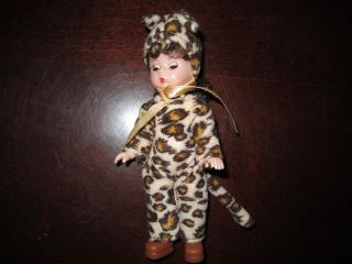 Madame Alexander McDonalds Happy Meal toy Girl doll Halloween Leopard