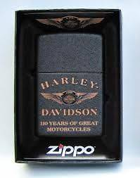 New Harley Davidson Zippo Limited Edition 110TH Anniversary Lighter