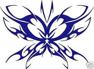 TRIBAL BUTTERFLY * Window WALL Sticker * Vinyl Car Decal Graphic * ANY