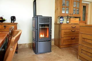 Boiler Lincar Stella 740 Wood Pellet Stove, Solid Fuel (eligible for