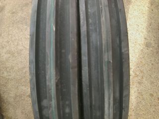 TWO 500X15,500 15,5.00X15,5.00 15 JOHN DEERE 3 Rib Farm Tractor Tires