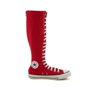 CONVERSE~Chuck Taylor~ALL STAR~XX Hi~KNEE HIGH~Sneakers~​SHOES~RED