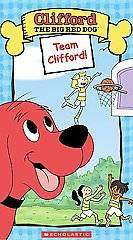 Clifford the Big Red Dog   Team Clifford VHS, 2004