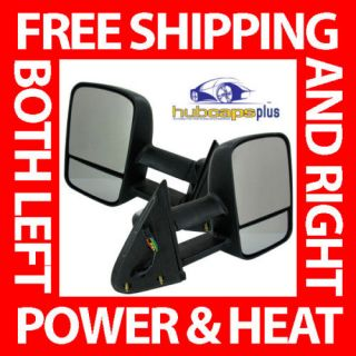 CHEVROLET GMC TRUCK POWER HEATED TOWING MIRRORS KIT (Fits 2001