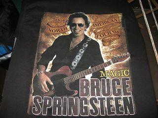 Bruce Springsteen 2008 Tour T Shirt Medium
