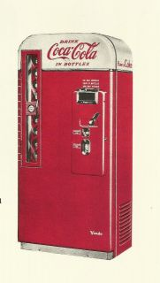 coke machine vendo 81 in Soda