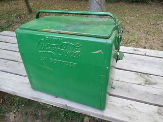 Vintage Coca Cola Cavalier Cooler Coke Ice Box