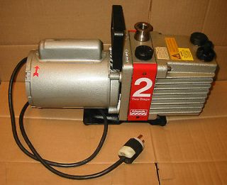 Edwards E2M2 Two Stage Rotary Vacuum Pump   USED