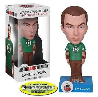 Entertainment Earth Exclusive Big Bang Theory Sheldon Green Lantern