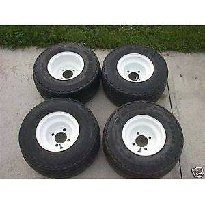 Used Golf Cart Tires and Rims fits Colombia PAR CAR