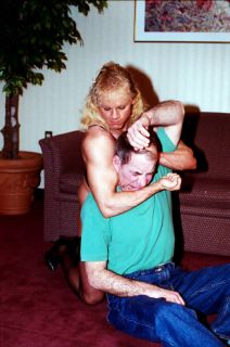 PP146   Apartment House Wrestling   Anita and Tom