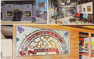 Vintage Postcard The Terry House Lounge Sedalia Missouri 1967 Bar MO